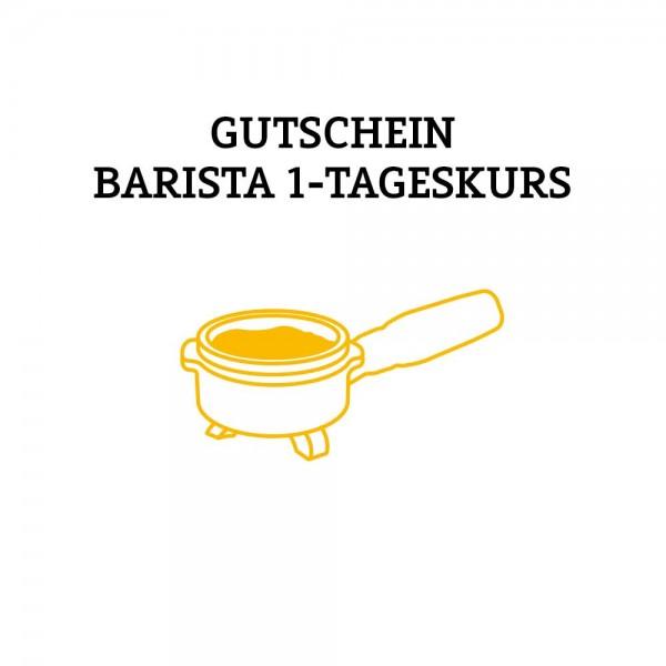 Gutschein Barista 1-Tageskurs (Versand per Post)