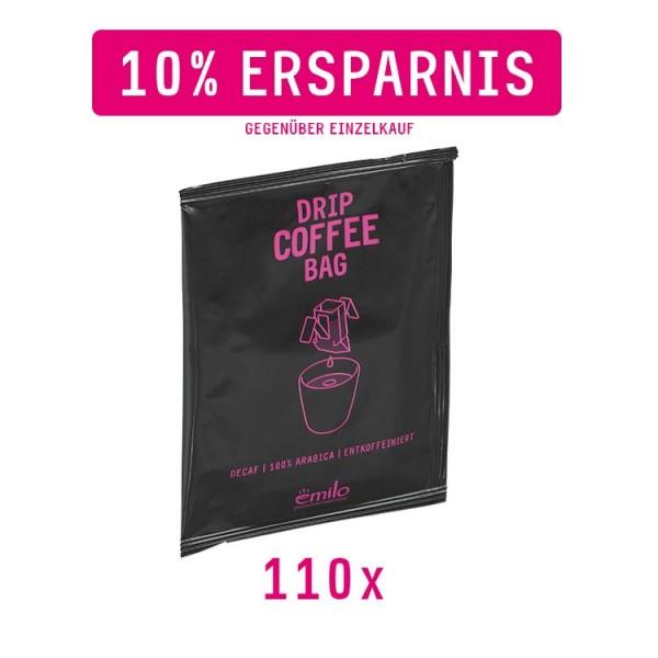 Drip Coffee Bag DECAF Vorratsbox 110x - entkoffeiniert