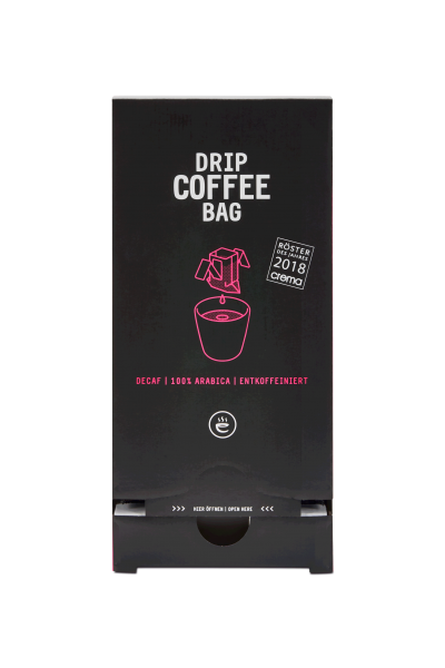 DRIP COFFEE BAG Decaf | Entkoffeiniert
