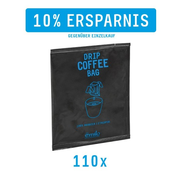Drip Coffee Bag ETHIOPIA Vorratsbox 110x
