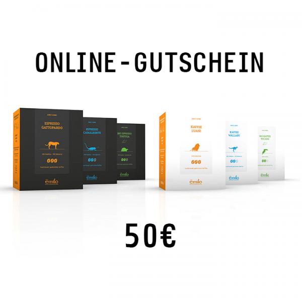 Online-Gutschein 50€