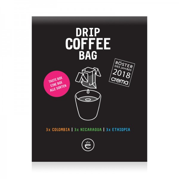 Drip Coffee Bag Tastebox