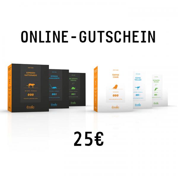 Online-Gutschein 25€
