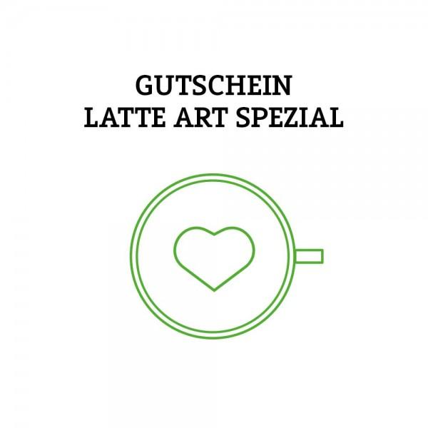Gutschein Latte Art SPEZIAL (Versand per Post)