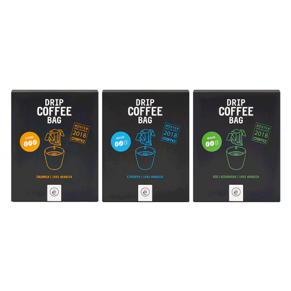 DRIP COFFEE BAG Probierset | 3x 8er Box