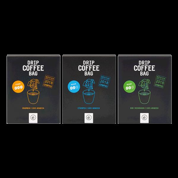 DRIP COFFEE BAG Probierset | 3x 8er Box