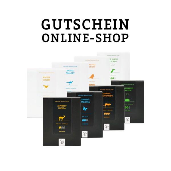 Gutschein Online-Shop (Versand per Email)
