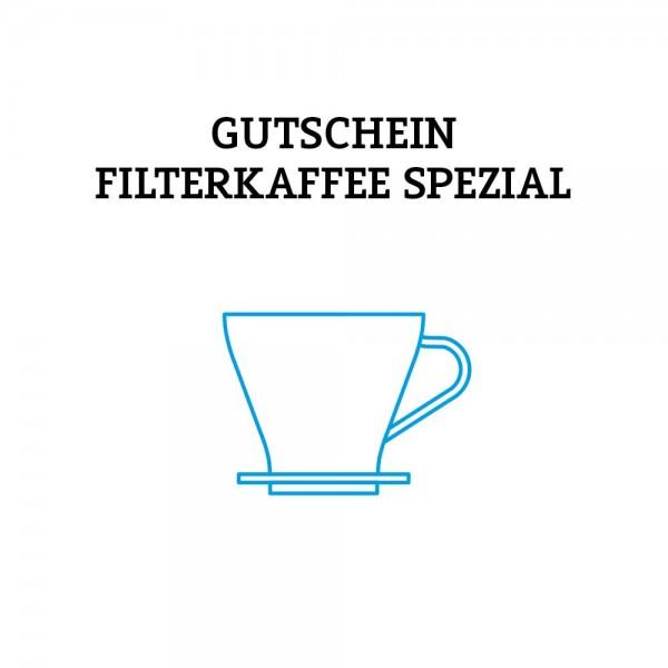 Gutschein Filterkaffee SPEZIAL (Versand per Post)