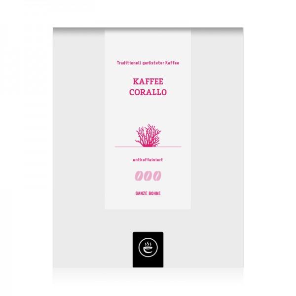 Kaffee Corallo entkoffeiniert