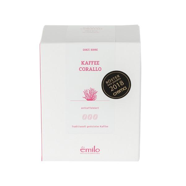 Kaffee   CORALLO - entkoffeiniert