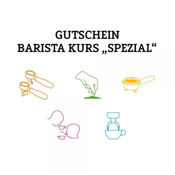 Gutschein Barista SPEZIAL (Versand per Post)