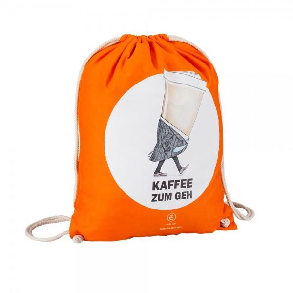 """Turnbeutel """"Kaffee zum Geh"""""""