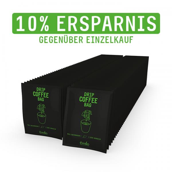 BIO Drip Coffee Bag NICARAGUA Vorratsbox 110x