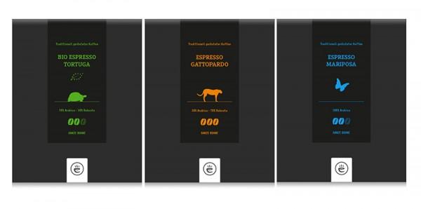 Espresso Probierset | 3x 250g