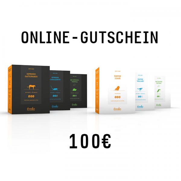 Online-Gutschein 100€