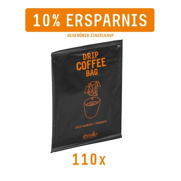 Drip Coffee Bag COLOMBIA Vorratsbox 110x
