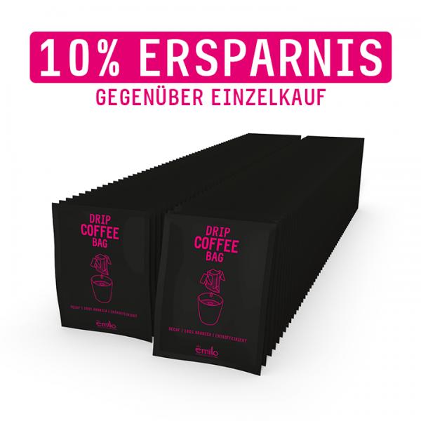 Drip Coffee Bag DECAF Vorratsbox 110x